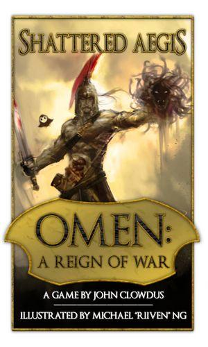 Board Game: Omen: A Reign of War – Shattered Aegis
