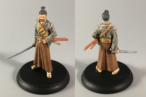 Board Game: Shadows of Brimstone: Wandering Samurai Hero Pack