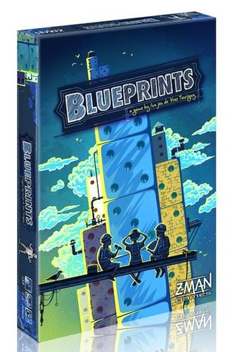Blueprints a review blueprints boardgamegeek the taj mahal sears tower the empire state building famous architectural wonders that started out with a plan visualized on a blueprint in the game malvernweather Gallery