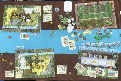 Michael Kiesling-Riverboat Board Game
