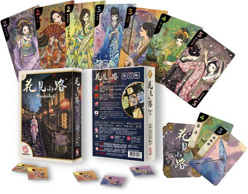 Hanamikoji A Great Two Player Card Game Game Review By Chris Wray