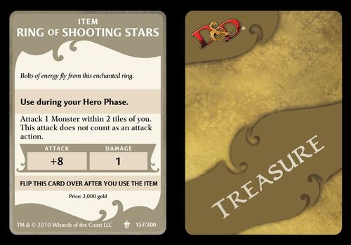 treasure card template accurate psd dungeons dragons wrath of
