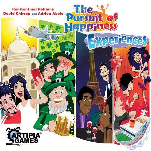 Board Game: The Pursuit of Happiness: Experiences