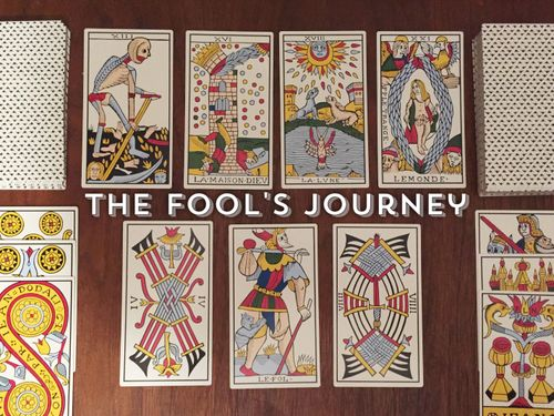 WIP] The Fool's Journey: Tarot Solitaire Card Game (2016