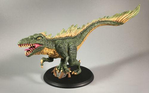 Board Game: Shadows of Brimstone: Swamp Raptor of Jargono XL Enemy Pack