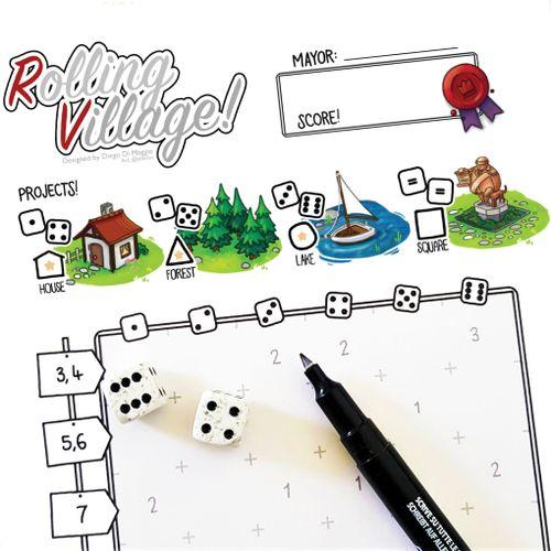 Board Game: Rolling Village!