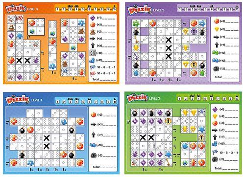 Board Game: Dizzle