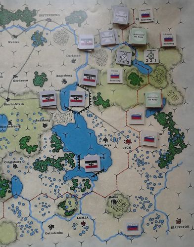 GS SR 007 – Situation at the end of Turn One – Round Five