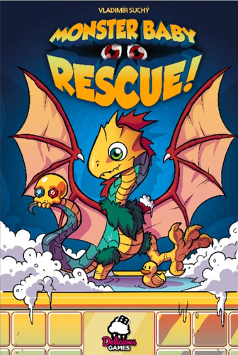 Board Game: Monster Baby Rescue!