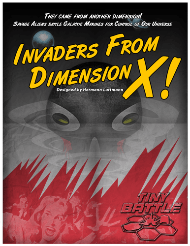 Board Game: Invaders from Dimension X!