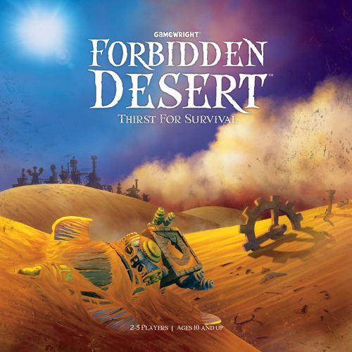 Forbidden Desert game box