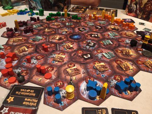 6 player game in progress (prototype)