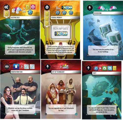 Board Game: Underwater Cities: New Discoveries