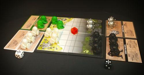 Token Terrors: Battlegrounds all set up!