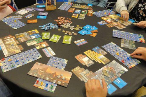 Board Game: 7 Wonders: Armada