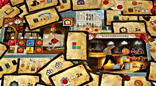 Board Game: Istanbul: Letters & Seals