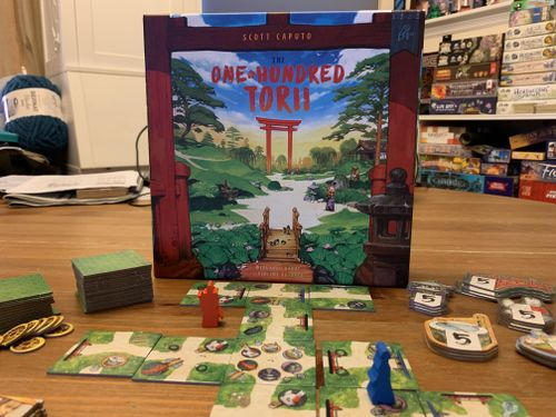 Board Game: The One Hundred Torii