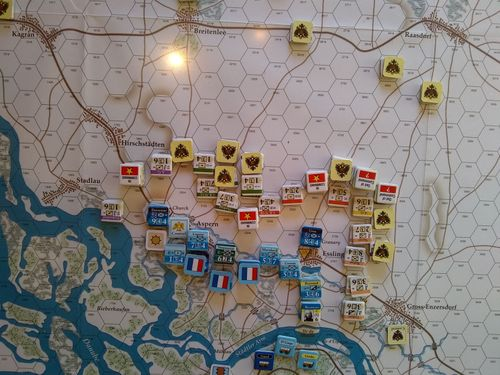 Board Game: The Last Success: Quadrigame of the War Against Austria, April - July 1809