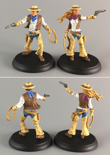 Board Game: Shadows of Brimstone: Cowboy Hero Pack