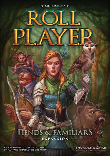 Board Game: Roll Player: Fiends & Familiars