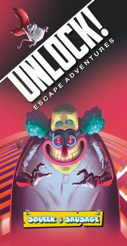 Board Game: Unlock!: Escape Adventures – Squeek & Sausage