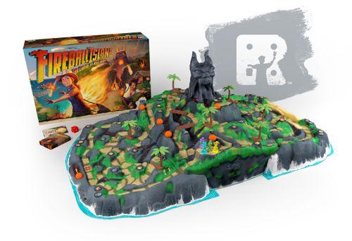 Board Game: Fireball Island: The Curse of Vul-Kar