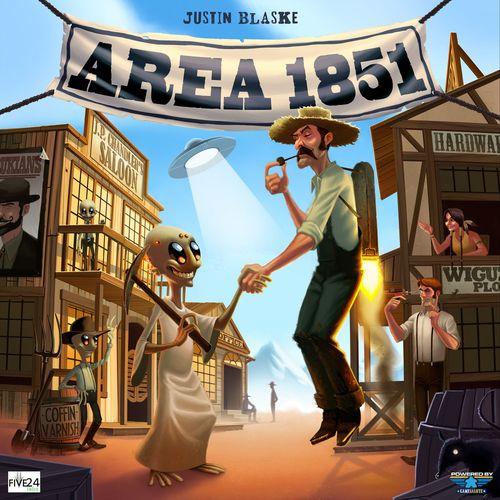 Board Game: Area 1851