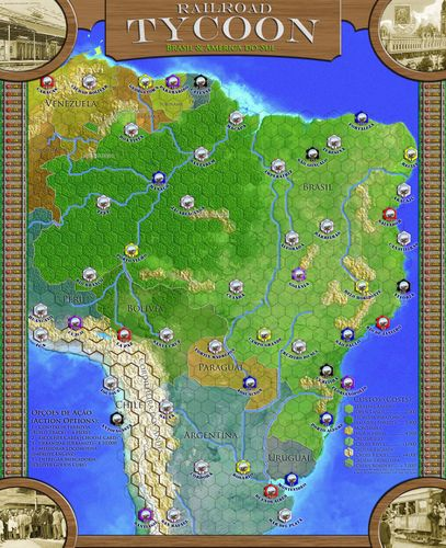 Maps for Railroad Tycoon / Railways of the World - Official and
