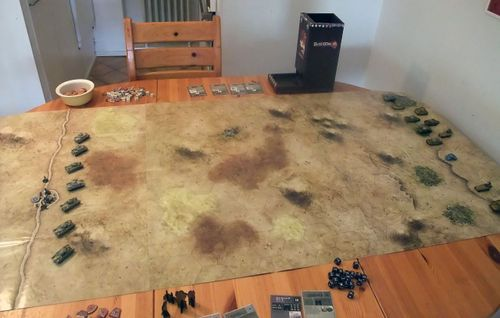 Operation Battleaxe Scenario   Axis & Allies Miniatures: North