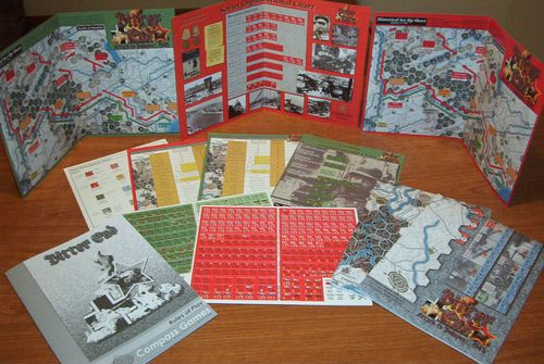 Board Game: Bitter End: Attack to Budapest, 1945