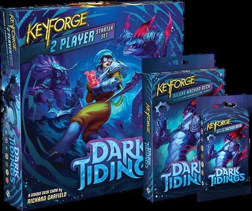 Board Game: KeyForge: Dark Tidings