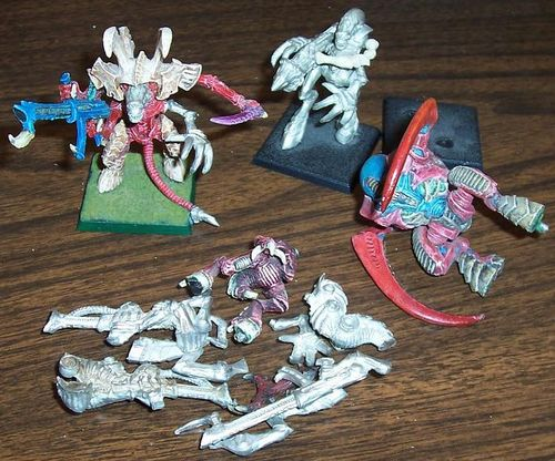 Finished some 2nd Edition Tyranids | Affordable Science