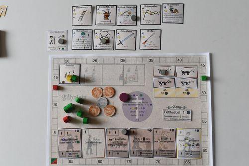 Board Game: Eysenhudt: Gotteslehrer & Hauptmann