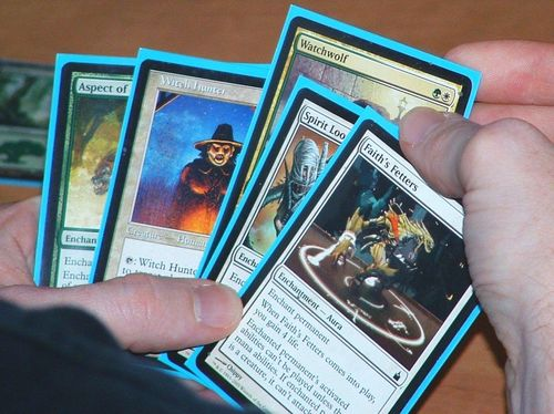 MTG Magic the gathering Lot de 50  rares en francais symbol doré