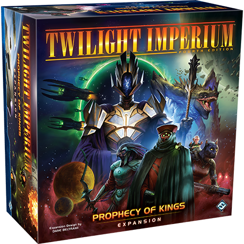Board Game: Twilight Imperium (Fourth Edition): Prophecy of Kings