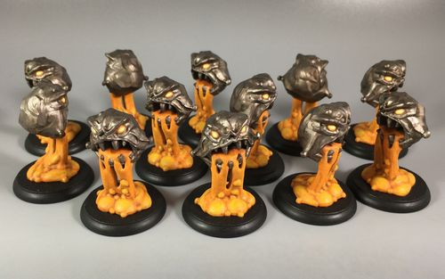 Board Game: Shadows of Brimstone: Magma Fiends Enemy Pack