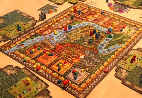 Board Game: Rajas of the Ganges