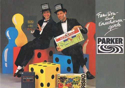 Board Game Publisher: Parker Brothers