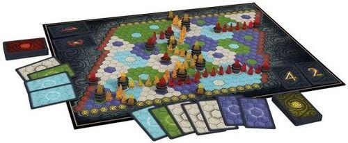 Board Game: Lumis: Der Pfad des Feuers