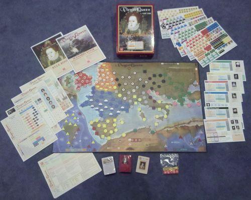Board Game: Virgin Queen