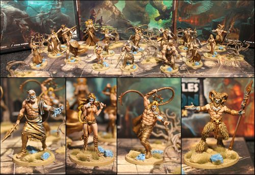 The Golden Turtleback Painted Miniature contest for miniatures