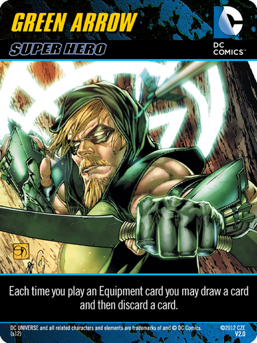 Custom Cards | DC Comics Deck-Building Game | BoardGameGeek