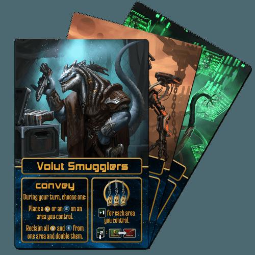 Alien Race Cards