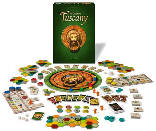 Board Game: The Castles of Tuscany