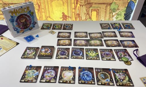 Board Game: Via Magica