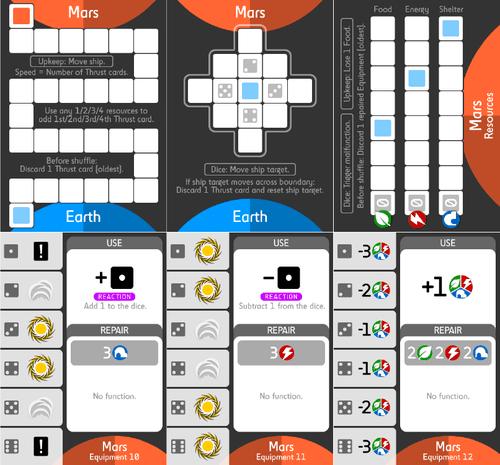 Board Game: Good Little Martian