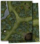 RPG Item: GameMastery Flip-Mat: Woodlands