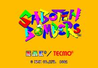Video Game: Saboten Bombers