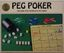 Board Game: Peg Poker