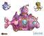 Board Game Accessory: Oceanos: Daisy Promo Submarine